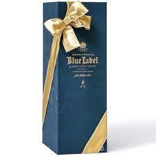johnnie walker blue label engraved scotch whisky 750ml