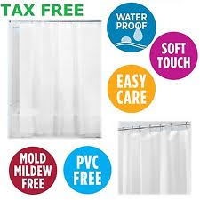 Peva Shower Curtain Liner Contemporary Shower Curtain Liners Ebay
