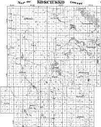 sections townships and ranges kosciusko co land research