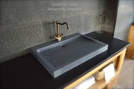 trough sinks bathroom bathroom modern with aqua atlanta backsplash