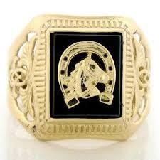 mens gold ring 10k solid gold mens ring ebay