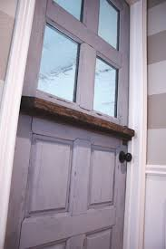 Dutch Barn Door by Making A Dutch Door From An Old Door