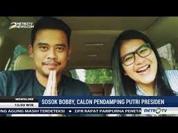 profil sosok jokowi mengenal profil bobby nasution calon cuami kahiyang menantu jokowi