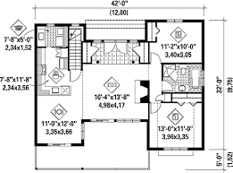 simple floor simple house plan with stunning views 80642pm architectural