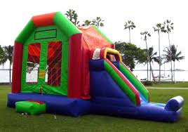 bounce house rental miami party rental miami combo units combo slide