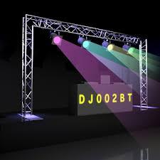 dj lighting truss package dj002bt 15 x 8 m290b triangle truss dj goal post kit