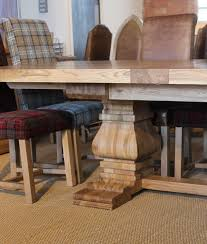 rustic oak dining table rustic oak extending dining table and chairs coma frique studio