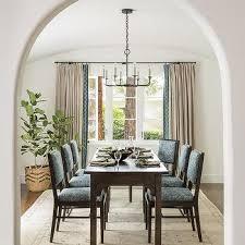Mediterranean Dining Room Furniture Cream And Blue Dining Room Design Ideas