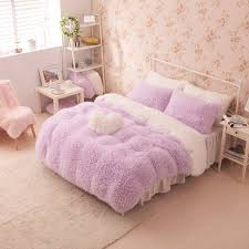 Beautiful Girls Bedding by House Beautiful 6 Piece Lace Ruffle Bedding Set Awesome Little