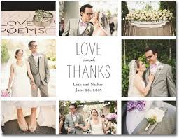 15 photo thank you cards wedding guide