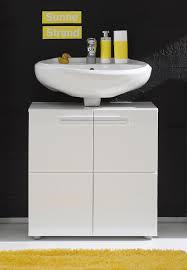 furnline 1327 301 01 bora high gloss bathroom under sink cabinet