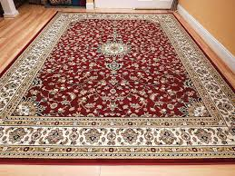 amazon com large 5x8 red cream beige black isfahan area rug