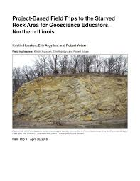 Illinois Mine Subsidence Map by Project Based Field Trips To The Starved Rock Area For Geoscience