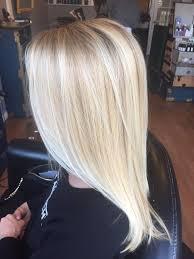 Light Blonde Balayage Bright Blonde Balayage Annakatherineh Hair Pinterest Bright