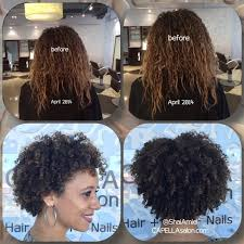is deva cut hair uneven in back katya decided to cut off all her heat damaged hair and start fresh
