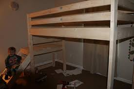Ana White Build A Camp Loft Bed With Stair Junior Height Free by Ana White Camp Loft Bed With Stair Junior Height Diy Projects