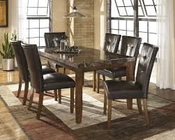 faux marble dining room table set 7 piece faux marble dining set sam levitz furniture