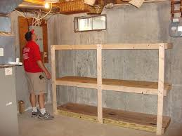 Storage Shelving Ideas by Adorable Storage Ideas For Basement With Images About Basement