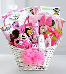 minnie mouse easter baskets the minnie mouse basket of ba girl surprises gift basket delivery
