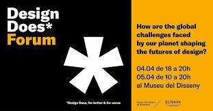 design management elisava design does forum museu del disseny de barcelona in barcelona