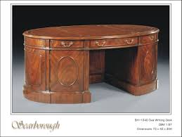 stunning design oval office table new 3pc cherrywood oval