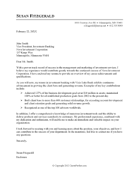gallery of cover letter example investment banking investment