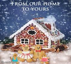 gingerbread house free from our home to yours ecards greeting
