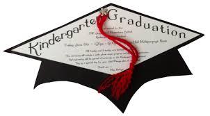 kindergarten graduation announcements invitation for kindergarten graduation day style by