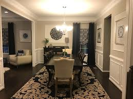 ryan homes formal dining room rome model sherwin williams