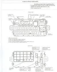 1991 honda accord fuse box location 1991 wiring diagrams