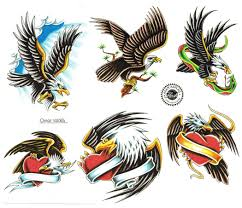 48 awesome flying eagle tattoos