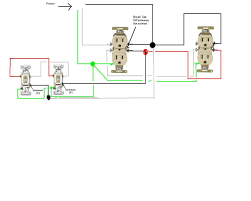 how do i go about wiring two split circuit outlets controlled by