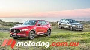 australian mazda motors 2017 volkswagen tiguan v mazda cx 5 comparison motoring com au
