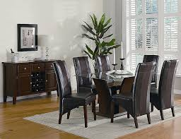contemporary formal dining room sets white kitchen table and chairs ebay luxury pc contemporary formal