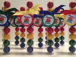 gumball party favors paintball party favor ideas