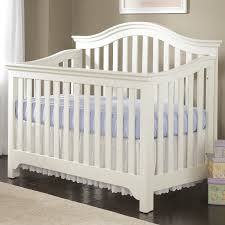 Sleigh Bed Crib Convertible Bedroom Creations Mesa Convertible Crib In White