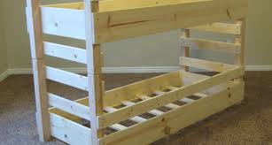 Crib Bunk Bed Diy Bunk Beds Toddler Bed Plans Fits Crib Dma Homes 27563
