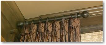 Curtain Rods Images Inspiration Side Mount Curtain Rod Curtains Ideas