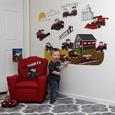 case ih for kids wall decal