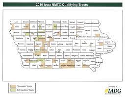 Iowa Counties Map Nmtc 2010 Census Iowa Area Development Group Partners In Progress