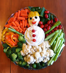 vegetable tray snowman for frozen party birthday pinterest
