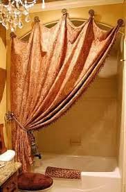 Shower Curtain Ideas Pictures Diy Instead Of Shower Rod Use Pretty Hooks And Tie Back Curtain