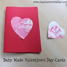valentines baby baby made s day cards play and learn every day