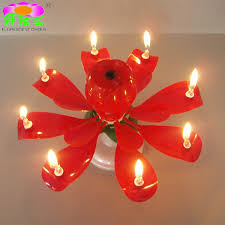 musical birthday candle rotating flower birthday candles from ningjin county
