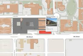 University Of Arizona Parking Map by Ua Pts Office Inormation