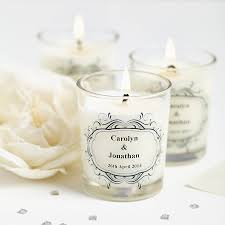 candles and favors wedding favour personalised scented candles favors personalized