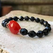 beaded heart bracelet images Fire heart bracelet simple graces jewelry jpg