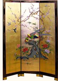 Gold Room Divider Asian Screens U0026 Room Dividers Oriental Furnishings