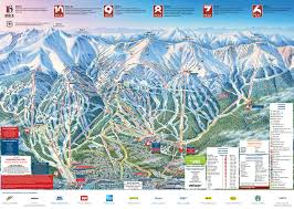 Colorado Elevation Map by Breckenridge Resort Ski Maps Breckenridge Com