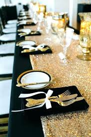 black and gold centerpieces for tables black and gold decorations top elegant black and gold decoration
